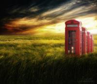 Now home to the Red Telephone Box