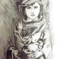 Innocence Art Prints & Posters by Sandeep Sharma