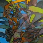 """abstract, art, expressionism, fine, industrial, ja"" by kennethcalvert"