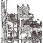 """Field Trip to Balboa Park Drawing by RD Riccoboni"" by RDRiccoboni"