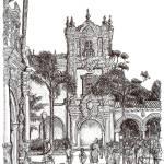 """""""Field Trip to Balboa Park Drawing by RD Riccoboni"""" by RDRiccoboni"""