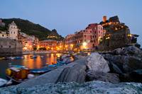 View from Vernazza, Cinque Terre, Italy