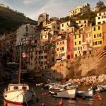"""""""paradise village landscape Riomaggiore, Italy,"""" by katta"""