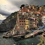 """""""Riomaggiore, Cinque Terre, Italy - dramatic"""" by katta"""
