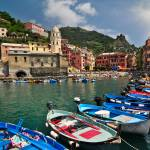"""View from Vernazza, Cinque Terre, Italy"" by katta"