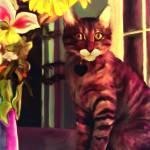 """Happy Cat"" by Tanya_Dawn_Art"