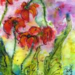 """Parrot Pitcher Plant Nature Flower Painting"" by GinetteCallaway"