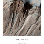 """Hale Crater Wall"" by AOCPrints"