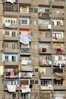Balconies of Apartment Block, Cairo, Egypt
