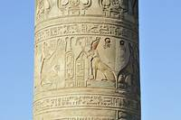 Detail of Pillar, Kom Ombo Temple, Egypt