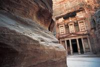 Red Rock and Treasury, Petra, Jordan