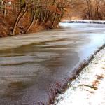 """snowy canal"" by Swmr152974"
