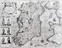 The Kingdom of Ireland, engraved by Jodocus Hondiu