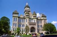 Route 66 - Jasper County Courthouse