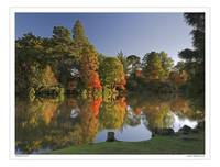 Autumn at Sheffield Park, East Sussex UK