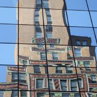 NYC Reflections 2 Art Prints & Posters by Lee Adams