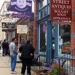 """Street-life  Lambertville"" by RickTodaro"