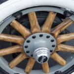 """Buick Wooden Wheel"" by RickAcadie"