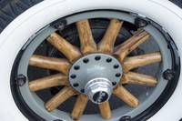 Buick Wooden Wheel