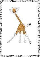 Illustration....Giraffe Fun