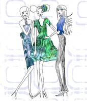 Illustration....Fashion Friends