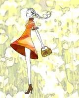 Illustration...Swing Girl