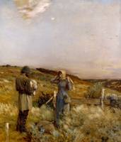 Rest Before Nightfall, 1883 (oil on canvas)