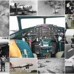 """Boeing B-17 Flying Fortress collage"" by DonStruke"