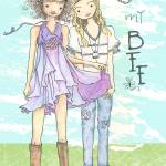 """Illustration....BFF"" by chowarddesigns"