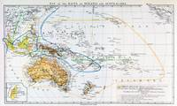 Map of the races of Oceania and Australasia