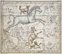 Monoceros, from 'A Celestial Atlas'