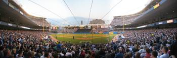Yankee Stadium Panoramic Behind Plate
