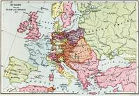 Map of Europe after the Peace of Luneville, 1801