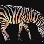 """""""Rainbow Zebra 1"""" by GarryTurpin"""