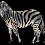 """Rainbow Zebra II"" by GarryTurpin"