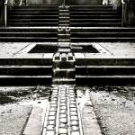 """Coal Harbour Fountain"" by raetucker"
