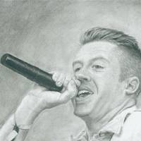Macklemore Art Prints & Posters by Eli Smith