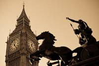 big ben and boudica sepia toned hi res