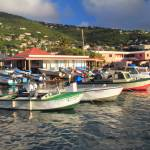"""Fishing Boats in Frenchtown, St. Thomas, USVI"" by RoupenBaker"