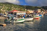 Fishing Boats in Frenchtown, St. Thomas, USVI