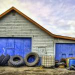 """Tire Repair Shop in HDR"" by watamyr1972"