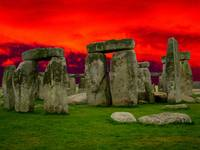 Stonehenge on Fire