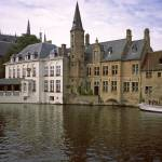 """Bruges Canal at Evening, 2002"" by PriscillaTurner"