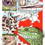 """Lizard Eyes"" by BThomasStudios"