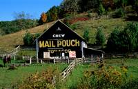 Mail Pouch Tobacco Barn Greenbrier WVA