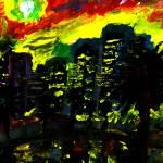 """Burning Sky"" by ravonne"