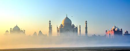 Taj in Fog, minutes after sunrise