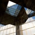"""Southbank London Building abstract View"" by DavidHornchurch"