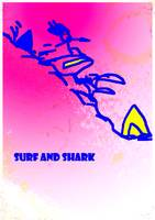 STREST surf and shark