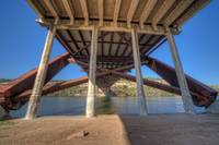 Under 360 Bridge ~ During Sunset ~